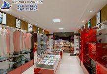 Thiết kế shop thời trang Remy
