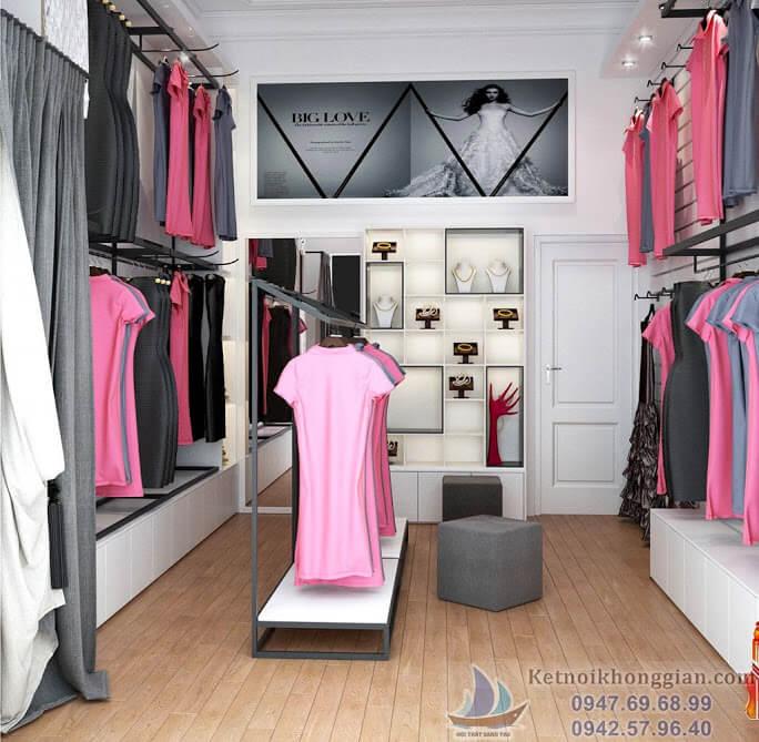 Thiết kế cửa hàng váy dạ hội