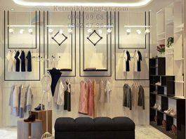 Thiết kế shop giày dép và quần áo thời trang