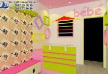 Thiết kế shop thời trang trẻ em Bébé - Hà Nội