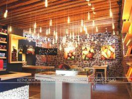 Thiết kế shop cửa hàng socola
