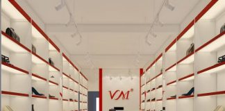 Thiết kế shop giày dép - thiết kế cửa hàng giày dép