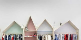 thiết kế shop thời trang trẻ em - thiết kế shop quần áo trẻ em