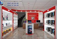 thiết kế cửa hàng máy tính hiện đại và chuyên nghiệp