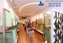 Thiết kế cửa hàng thời trang Sen bèo