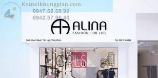 Thiết kế shop thời trang công sơt 40m2