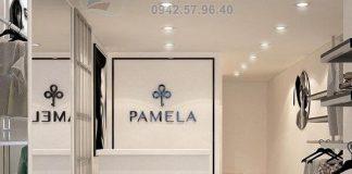 Thiết kế shop thời trang nữ Pamela