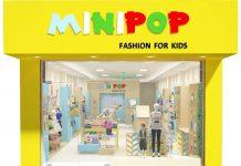 Thiết kế shop thời trang trẻ em