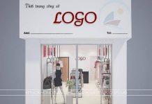 thiết kế shop thời trang giá rẻ