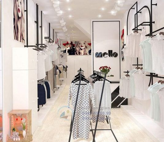 Thiết kế shop thời trang công sở nữ